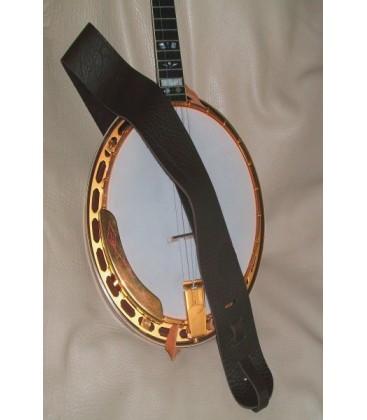 Strap - Lakota 3 inch Non-Cradle Mahoganyor Rosewood Banjo Strap