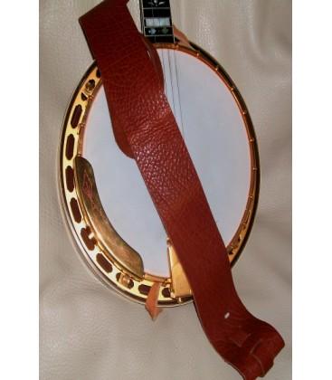 Lakota 3 inch Non-Cradle Mahogany or Rosewood Banjo Strap