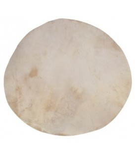 Flat Goatskin Banjo Head - P-198