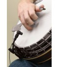 ABS-Ccondenser mic version clip on mic for banjos and resonator guitars
