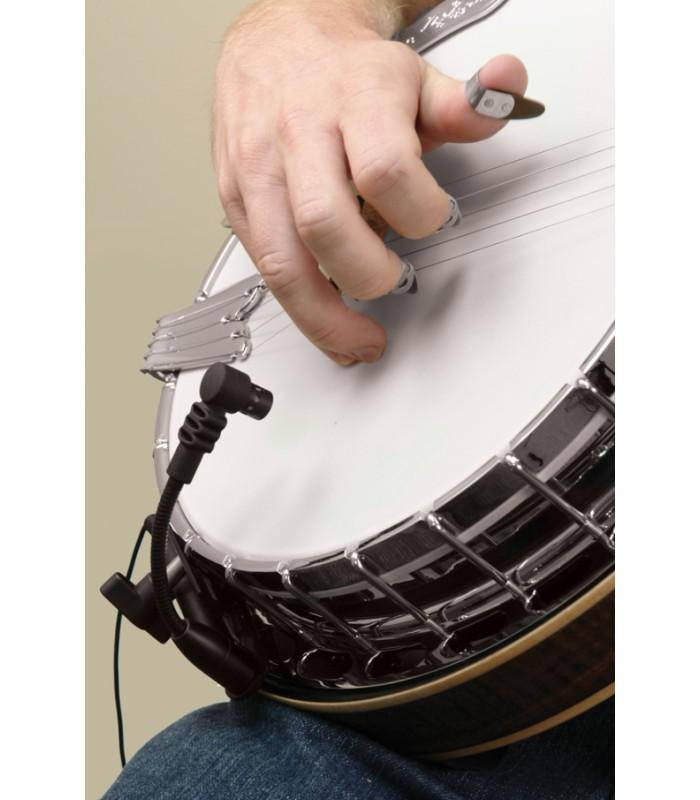 pickup abs c banjo pickup condenser mic gooseneck. Black Bedroom Furniture Sets. Home Design Ideas