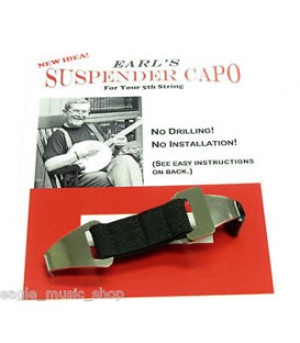 Earls' Suspender Banjo Capo