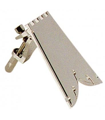 Tailpiece - Straightline 5 String Tailpiece Nickel (B1110)