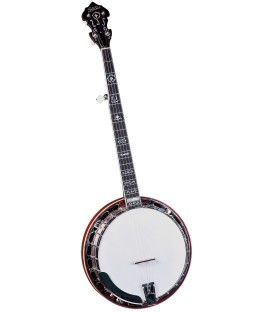 Gold Star GF-100W Mahogany Wreath Banjo