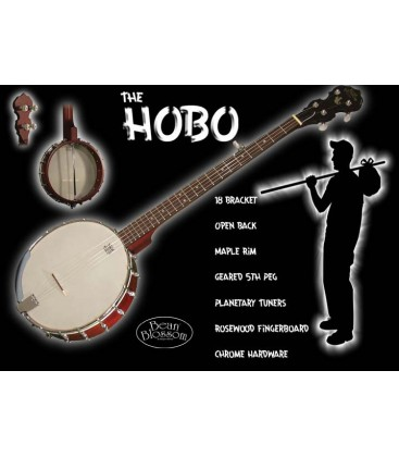 Morgan Monroe Hobo Travel Banjo
