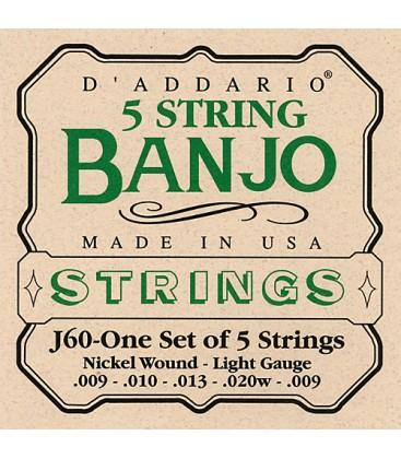 Strings- D'Addario Light strings