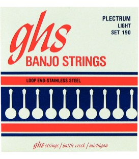 Strings - Plectrum (Loop End) Stainless Steel GHS Strings