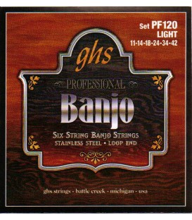 Strings - 6 string banjo strings Loop End -PF120