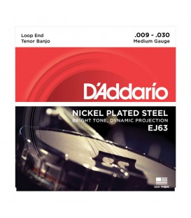 D'Addario Nickel 4-String Tenor Strings - J63
