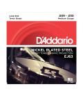 D'Addario J63 Nickel 4-String Tenor Banjo Strings