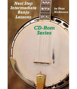 CD ROM - Next Step Intermediate Banjo Lessons