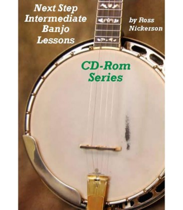 CD ROM - Next Step Intermediate Banjo Lessons on CD-Rom