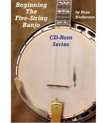 CD Rom - Beginning the Five String Banjo CD-Rom Series/Two Discs