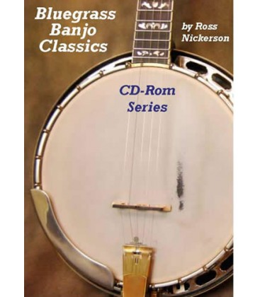 CD ROM - Bluegrass Banjo Classics CD-Rom Series