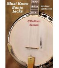 CD ROM - Must Know Banjo Licks CD Rom Series