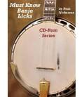 CD ROM - Must Know Banjo Licks CD Rom Series
