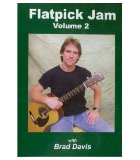 DVD - Flatpick Jam Volume 2 (DVD) with Brad Davis