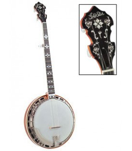 Goldstar GF 100-HF Banjo - Hearts and Flowers Inlay