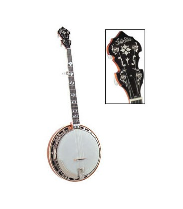 Goldstar Hearts and Flowers Banjo - Includes free case and U.S. shipping