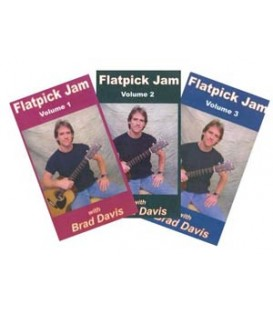 CD - Flatpick Jam Vols 1, 2, & 3 (CD) with Brad Davis