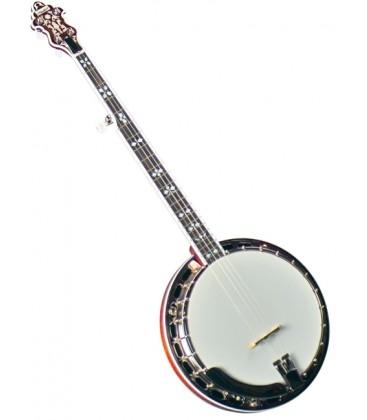 Banjo - Flinthill FHB-280 Mahogany Resonator Banjo with hardshell case