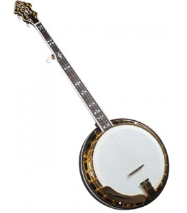 Flinthill FHB-287A Maple Resonator Banjo with hardshell case - Raised Head