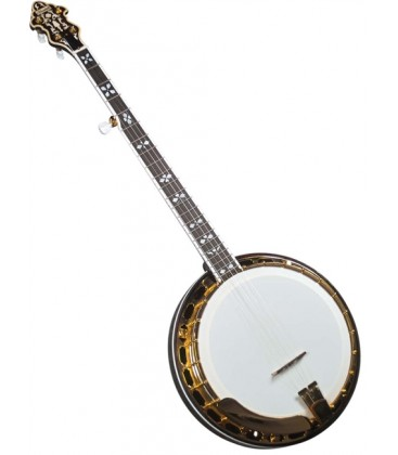 Banjo - Flinthill FHB-287A Maple Resonator Banjo withhardshell case - Raised Head