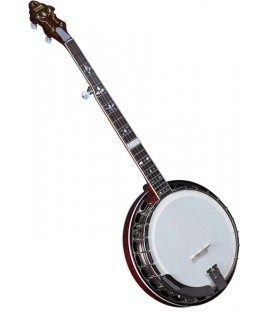 Banjo - Flinthill FHB-300A Maple Resonator Banjo with hardshell case - Raised Head