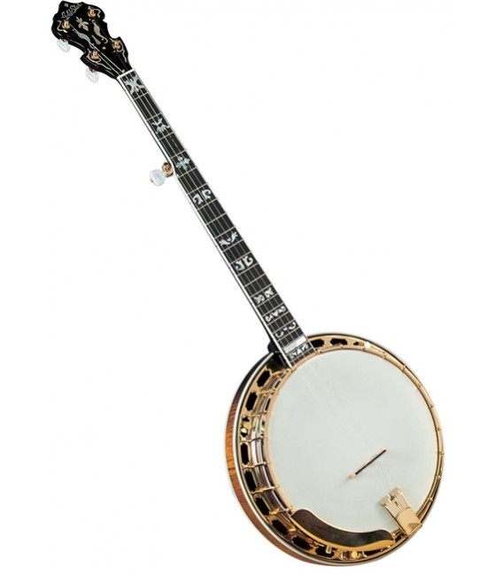 Gold Star GF-300FE Gold Plated Granada Syle Banjo