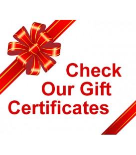 Gift Certificate to BanjoTeacher.com for $25.00, $50.00, $75.00, $100.00 and $300.00,