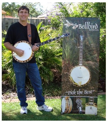 Bellbird Banjos Available in the USA at BanjoTeacher.com