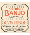 D'Addario Phosphor Bronze Light Ball End String - J69B