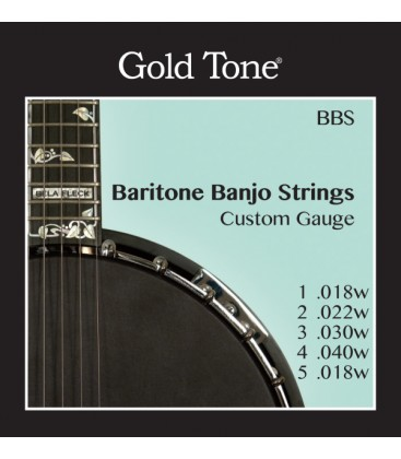 Replacement Strings Goldtone Missing Link Banjo, ML-1, Bela Fleck Model