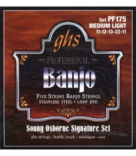Strings for the Banjo - GHS - 8 Different Gauge Combinations Available