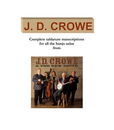 J.D. Crowe - 7 Book Discount with Free US Shipping
