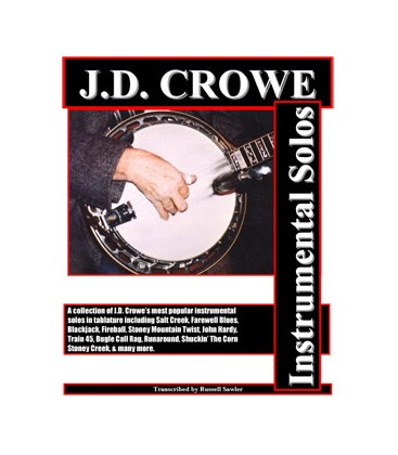J.D. Crowe Tab Books Discount Combination