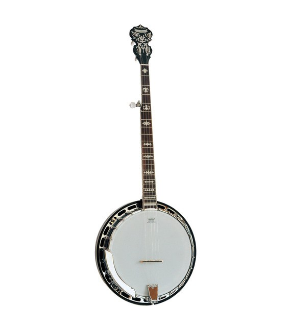 Morgan Monroe MB-9 Duelington Deluxe and Hard Shell Case - FREE Beginner Banjo Kit