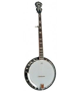 Morgan Monroe MB-9 Duelington Deluxe - FREE Beginner Banjo Kit