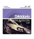 D'Addario EJ57 Daddario Nickel Plated Steel 5-String Loop End Banjo Strings