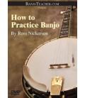 Online DVD - How To Practice Banjo