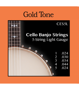 CEB 5 Cello Strings – Light