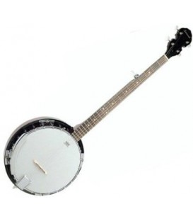 Savannah SB-100-L LEFT HANDED Banjo with FREE Beginner Banjo Kit