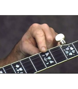 Playing Banjo in the Key of D and Up the Neck Online Banjo DVD