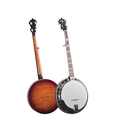 Goldstar Flamed Maple Sunburts - GF200 with Free Hard Shell Case and Free US Shipping
