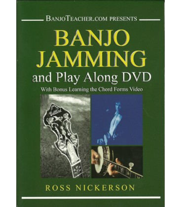 Banjo Jamming and Play Along -  Online Banjo DVD