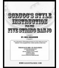 Scruggs Style Instruction E-Book With CD Tracks