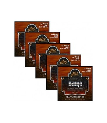 Discounts on Banjo Strings - (5 sets) GHS PF 175 Sonny Osborne Banjo Strings