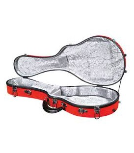 Mandolin Case - Superior Mandolin Case - Fiberglass - Model F - CF-1520R (without mandolin purchase)