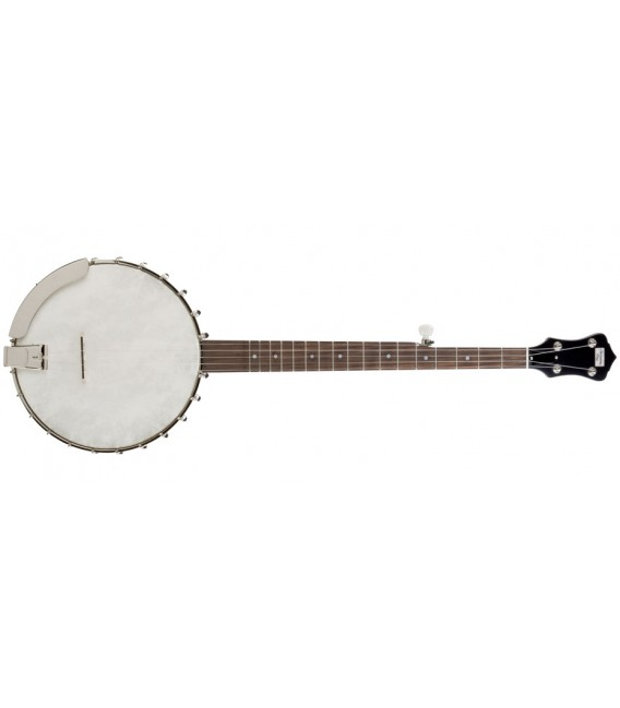 Recording King OT25 - RK OT 25 - Open Back Old Time Clawhammer Banjo with Hard Shell Case