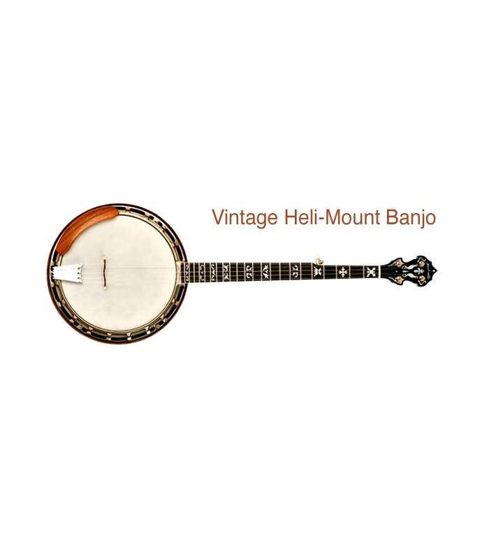 nechville vintage helimount banjo radius neck traditional design. Black Bedroom Furniture Sets. Home Design Ideas